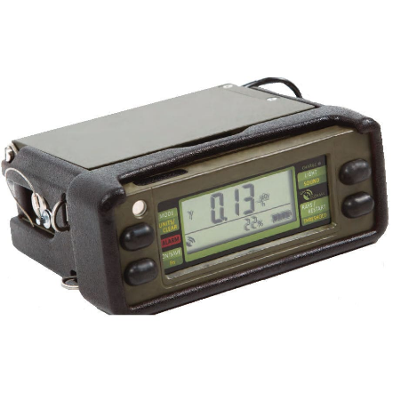 SVGps Radiation Detector